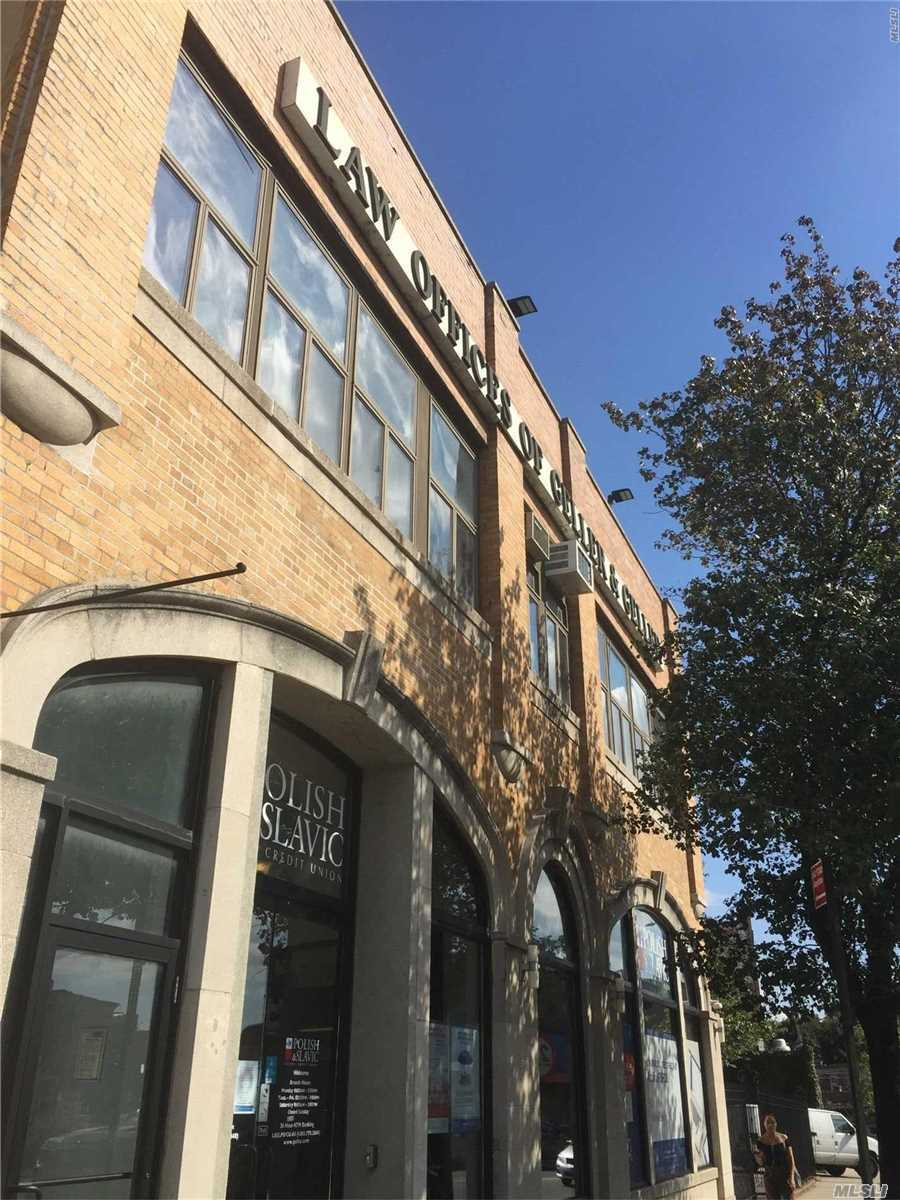 Office Space: Approx; 1125Sf/Second Floor. Previously Used As Law Firm. Space Currently Divided Up Into Three-Independent Offices, A Conference Room, Waiting Area And Storage Closet. Layout Can Be Reconfigured. One Dedicated Parking Space Included In Rental. Electric/Heatg-Ac/Water Charges Not Included.