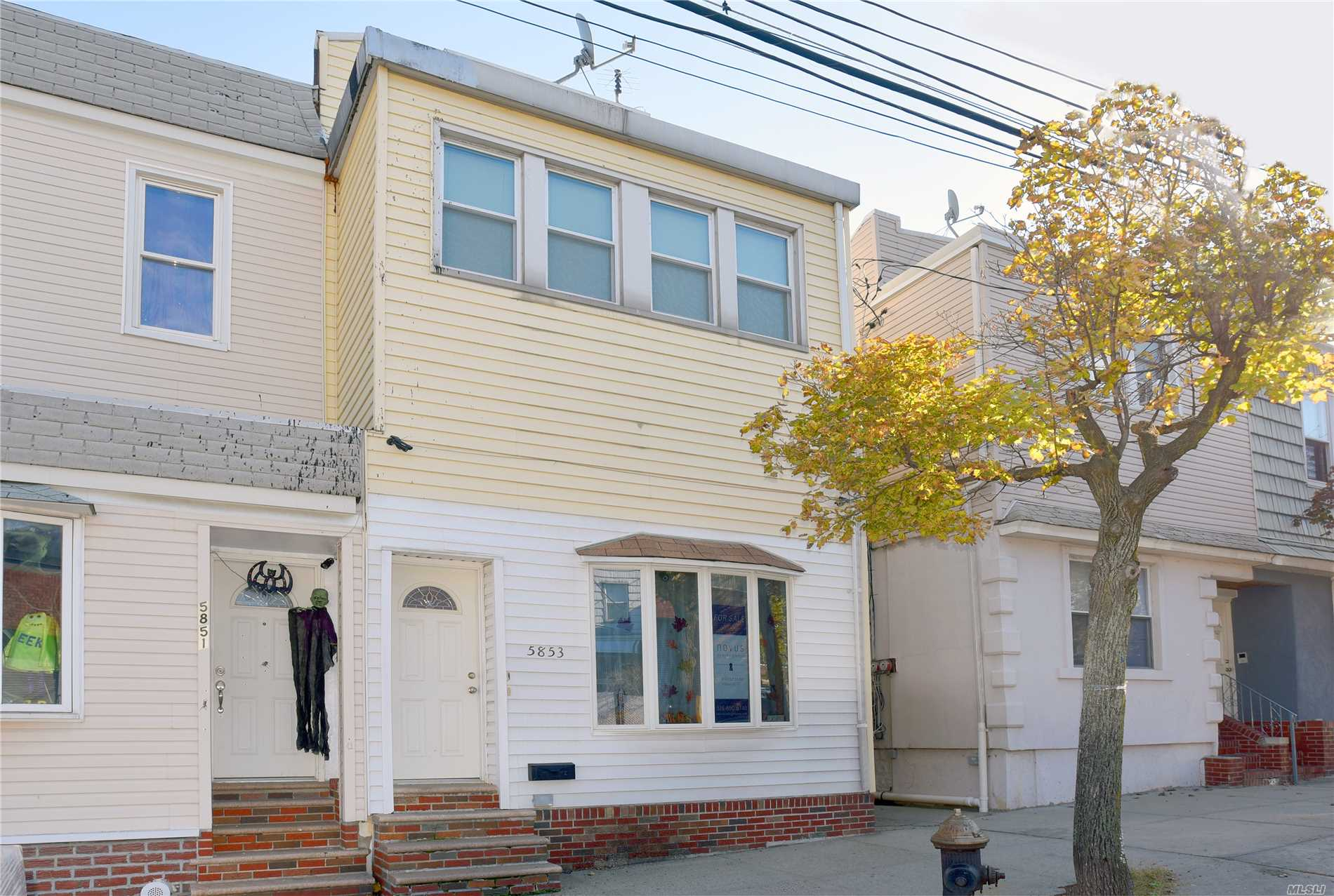 Pride Of Ownership Is Evident In This Welcoming Move In Condition 2 Family Home In Maspeth. 2 Bedrooms Over 1 Large Bedroom. Updated Kitchens And Baths, Finished Full Basement. New Windows, High Ceilings, Great Rear Outdoor Patio For Entertaining. Convenient To Schools, Houses Of Worship And Mass Transit.