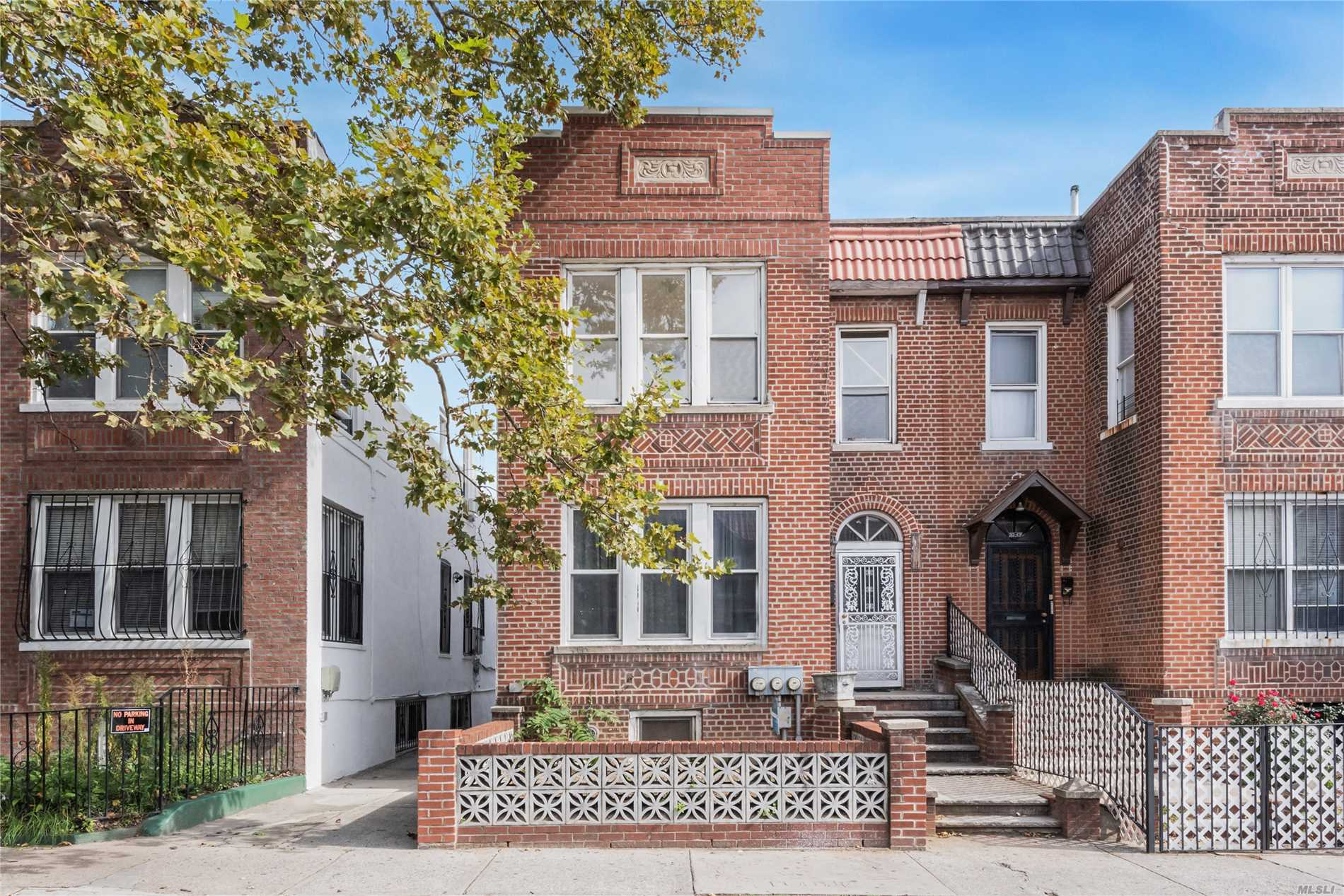 Prime Location Of Jackson Heights. Large 2 Family Home In Great Condition, Fully Finished Basement. Sun Drenched All Rooms With 2 Skylights, 2 Large Eat In Kitchens, Lots Of Closets, Whole House Freshly Painted. New Roof In A 2 Car Garage. Half A Block To Northern Blvd, Public Transportation, Restaurants, Shopping And More!!! Won't Last!
