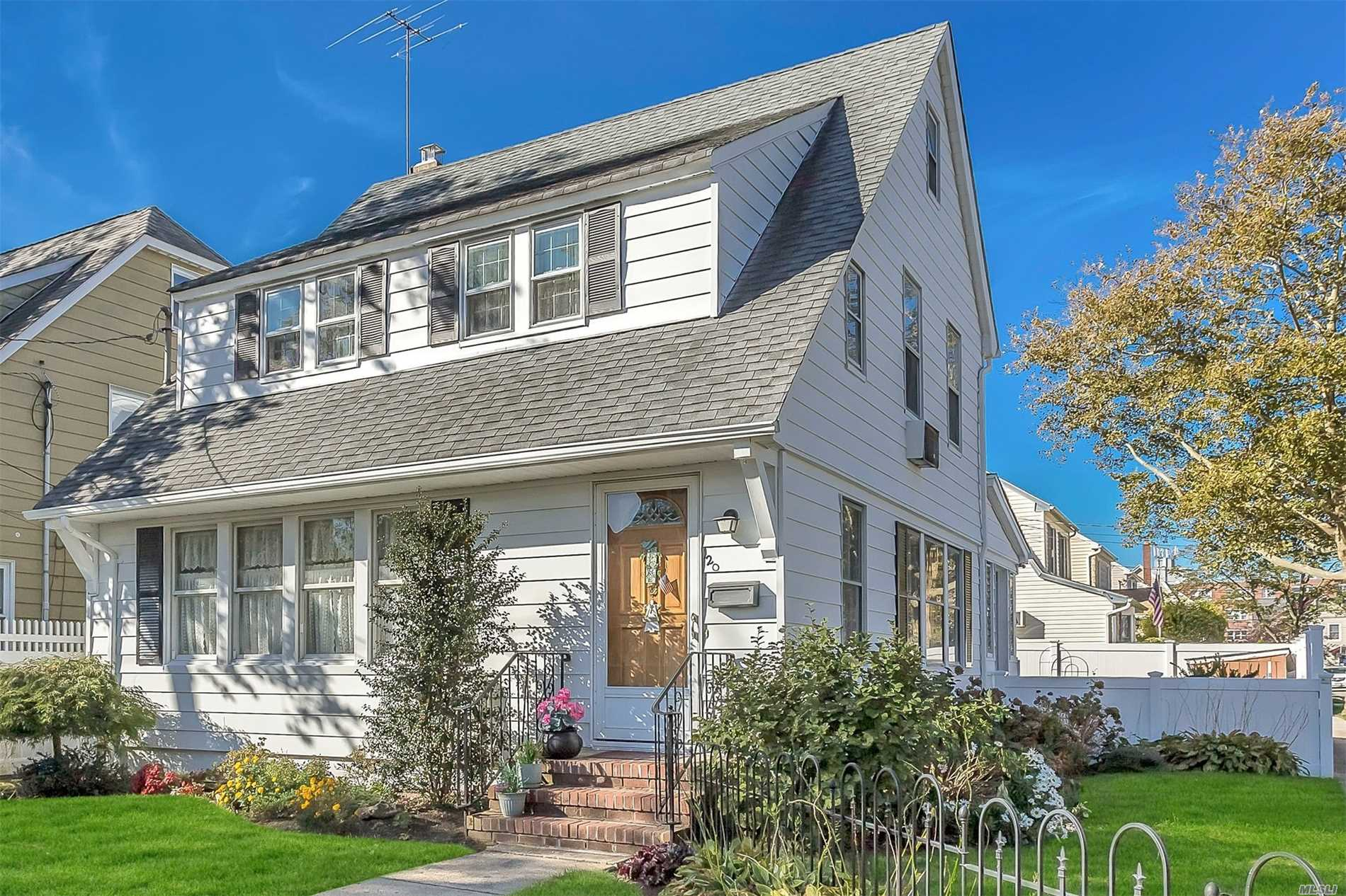 Filled With Charm,  3 Bedroom, 2 Bath, 2 Car Garage, Basement Colonial In Prime College Section. Nice Corner Property .Centrally Located To Community Pool & Park, Rail, Highways, Shopping. Hardwood Floors, Roof 6Yrs, Newer Gas Heating. Hurry, Don't Miss!