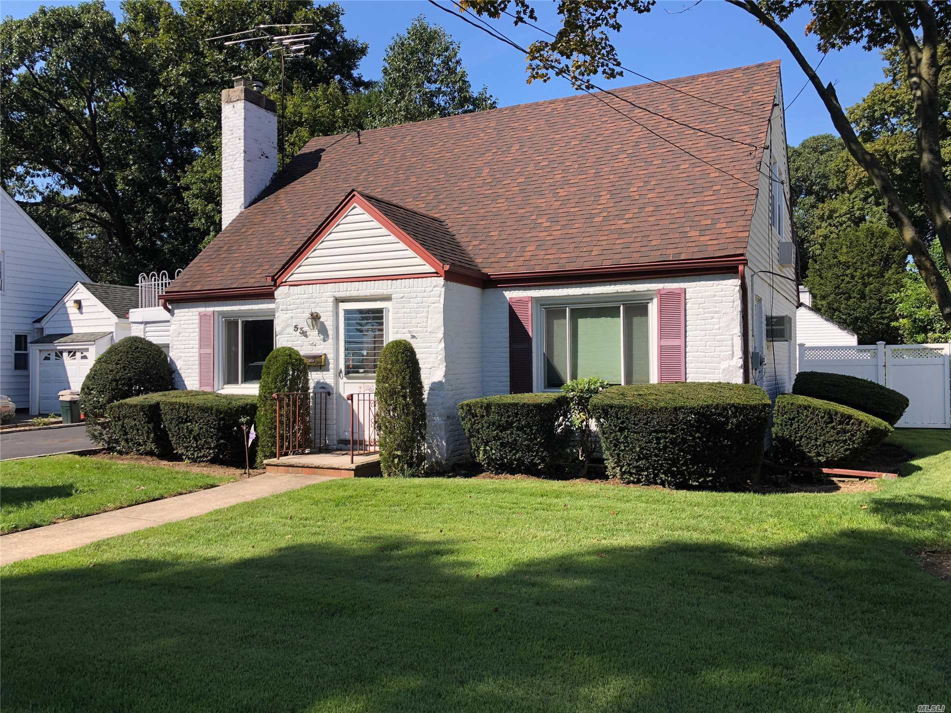 This 3 Bedroom 2 Bath Cape Needs Your Tlc . Set On A Beautiful Tree Lined Street In The Heart Of West Hempstead It Is Close To Shopping, Major Transportation, And Places Of Worship. Do Not Miss This Opportunity To Make This House A Home.