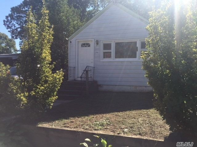2 Bedroom 1 Bath On Deadend Street, New Living Room Carpet, Fresh Paint, Ose Basement, Rear Screened Porch, Fenced Property, Connetquot Schools.