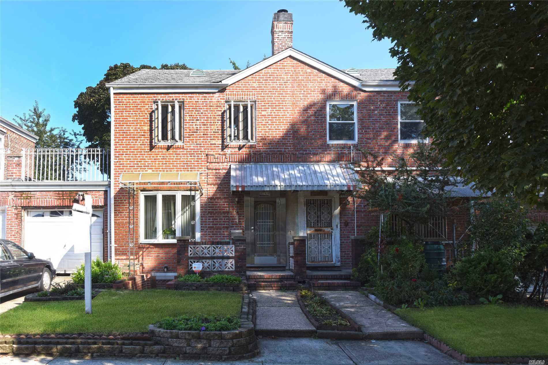 Just Arrived- Fully Brick S/D Colonial Located In The Heart Of Fresh Meadows. Convenient To Shopping & Transportation Along Utopia Pkwy And Union Turnpike. Schools. P.S173; J.H.S.216- Great Buy- Won't Last!