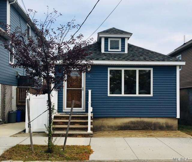 All New! New Kitchen Cabinets, Counters, Appliances, Hard Wood Floors Throughout, Ductless Air Conditioning, Newly Tiled Bathroom, Back Deck, Storage Shed, Yard. Close To Parks, Tennis, Rockaway Beach, 20 Minutes To Jfk, Close To Gateway National Park.