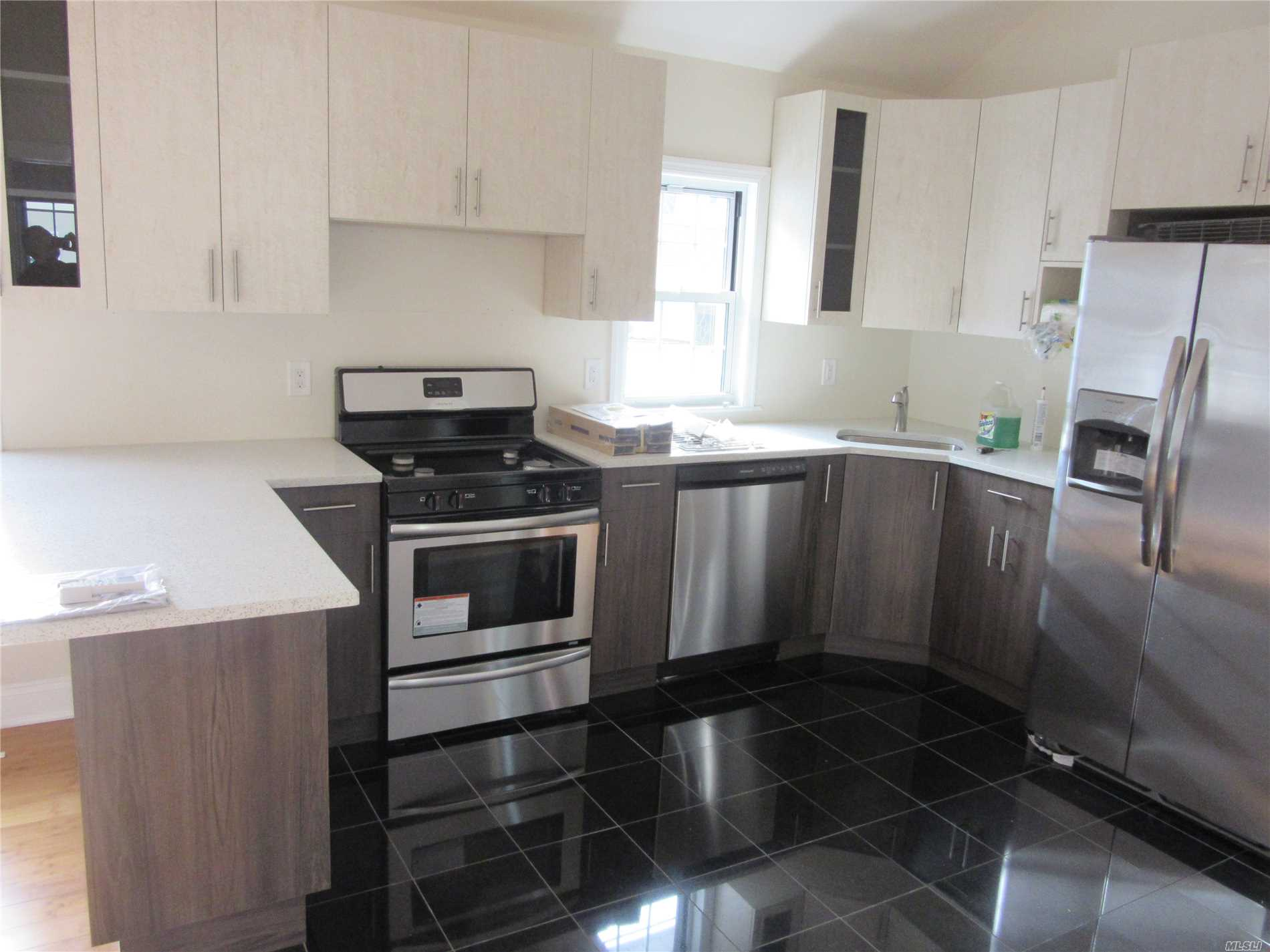 Fully Renovated Single Family Home. Beautiful Floors, Brand New Modern Kitchen. 3 Bedrooms And 2 Bathrooms, Central A/C, High Ceilings With Spotlights. Basement Is Fully Finished With Separate Entrance. Spacious Driveway With Big Garage.