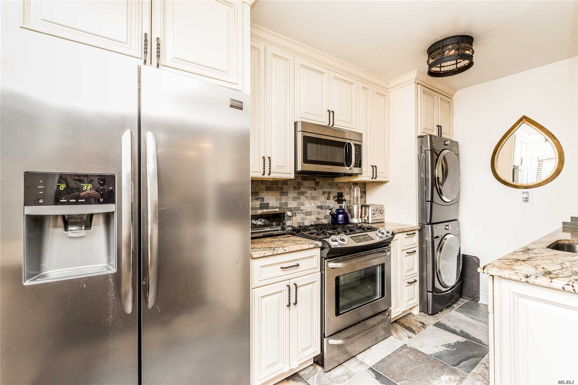 Stunning Renovated 2 Bedroom C Line Apartment At Beech Hills. Open Living Room And Dining Area. Beautifully Renovated Kitchen With Frigidaire Stainless Steel Appliances, Granite Counters And Soft-Close Cabinets And Draws. Bathroom Is Custom Designed With Floor To Ceiling Tile. All Utilities Are Included In Maintenance. Near Shopping And Transportation. Cat Okay.