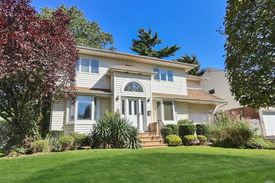 Center Hall Colonial Located In A Beautiful Location. Taxes $9612.82 Without Star. Sd#15 . Excellent Layout Featuring Formal Dining Room, Formal Living Room, Tremendous Eat In Kitchen Open To Family Room With Sliding Glass Doors To The Backyard. Library /Study, 1/2 Bath On The First Floor. Second Floor Features Master Suite With Spacious Full Bath And Walk In Closets , Plus 3 Bedrooms And Full Bath . Basement .Close To All!!