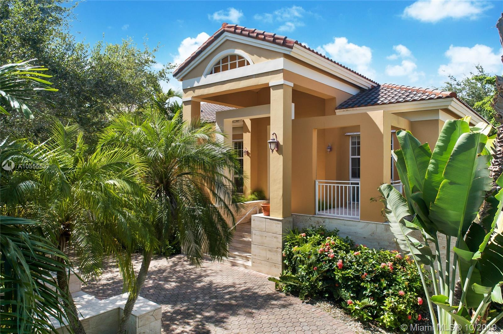 This Nature Lovers Paradise Is A Fame Award Winning Masterpiece Designed And Built By Its Current Architect Owner. It Is Located In The Gated Community Of Hammock Oaks Off Old Cutler In Coral Gables And Has 4 Bedrooms Plus Den/Studio And 4 Bathrooms With 4, 185 Adjusted Sq. Ft. It Has A Formal Living And Dining Room And A Large Open Kitchen/ Family Room Area. All Main Living Areas Open With A Stunning And Expansive View Of The Large Covered Rear Terrace And A 36+Ógé¼Gäó Long Swimming Pool With A Creek And Lushly Landscaped Yard Overlooking Fairchild Tropical Gardens. There Is A Beautiful Large Private Deck Over The Creek Where You Can Enjoy Nature At Its Best Both Day And Night! It Has An Over-Sized Two Car Garage On The Ground Floor. It Belongs To The Top Rated School District Of Pinecrest.