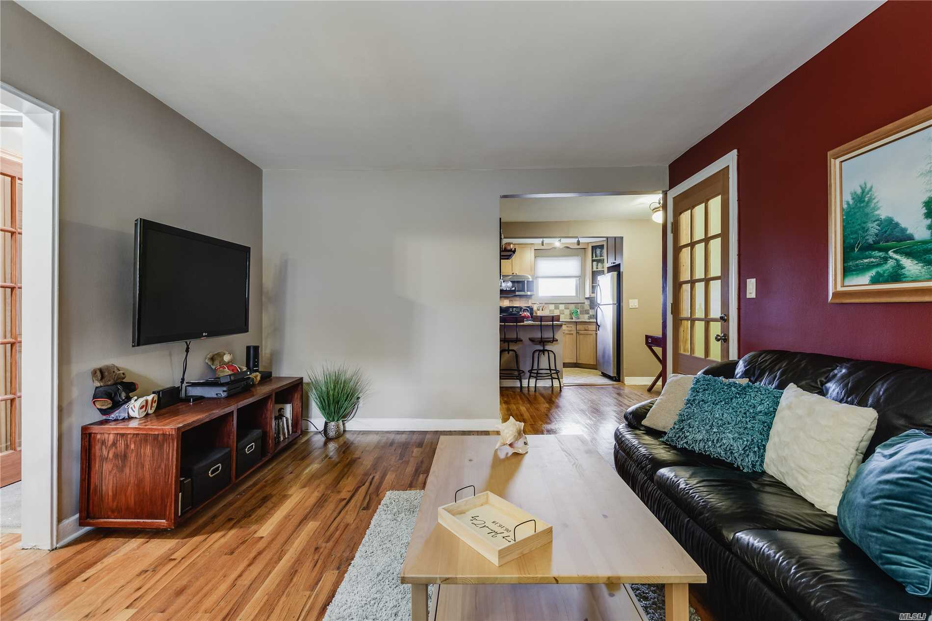Tastefully Updated One Bedroom. Kitchen W/Granite Counter , Light Color Cabinetry, Offers Gym, Laundry Room W/ Reading Area , Room W Pool Table, + Ping Pong ,  Playground, Storage Room + Attic Space. Maintenance Include Heat, Water And Taxes. One Parking Space On Gated Area