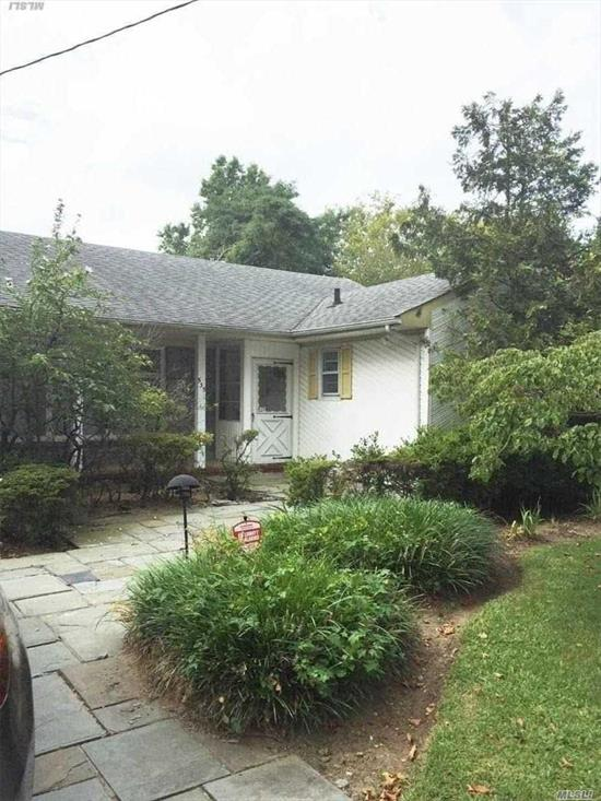 Charming 3 Bedroom, 2 Full Bath Ranch, Lr, Formal Dr, Beautiful Wood Panelled Den. Beautiful Spacious Property. Prime Location!!!