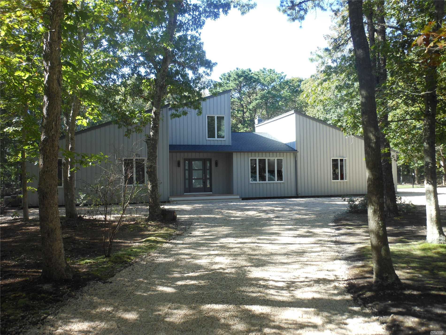 Pristine Renovated 5Br, 3 Full Bath Modern Home On 1.1 Acres Of Treed Land W/ Igp! Eik W/ Quartz Tops & Soft Close Cabinets, Bertazzoni Appliances& Hood, Hi-Hats & Oak Flooring Throughout, Lr W/ Soaring Ceilings&Brick Fpl, Master Suite Inc Full Bath And Lg Closet, Clean Sheetrocked 2C Att Gar,  6 Car Stone Circular Driveway, New Cac, Mahogany Front Porch, All New Windows, Siding, Roof, Lot Of Sunshine, Taxes W/ Star $4, 116.18 Close To Beaches, Town & Shopping! Verify All Info Supplied