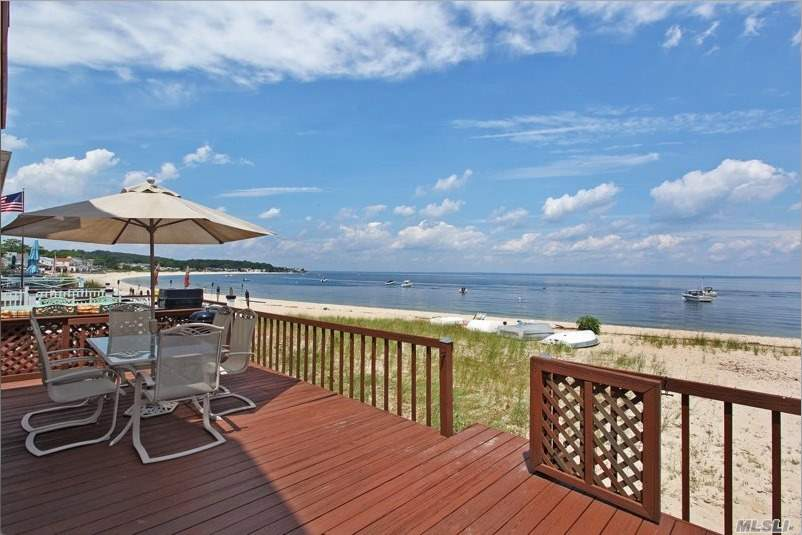Location, Location, Location, Li Sound Waterfront Pvt Beach, Gorgeous Sunrise/Sunsets, Swimming, Boating, Fishing At Your Doorstep. Upper Balcony From Master Bedroom. Open Layout, (Great Decorating Possibilities. Generator, 150 Amp Elec. Service