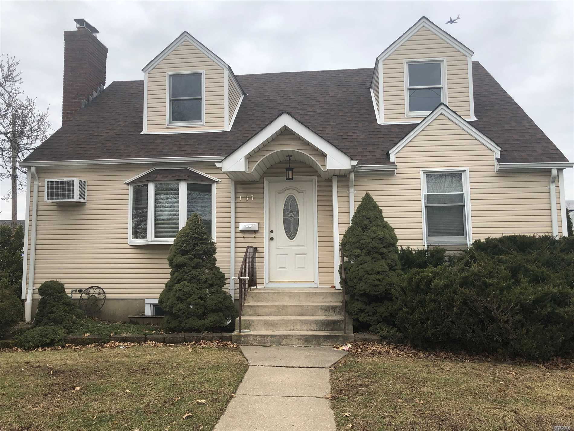 Beautiful 1 Family House For Sale. North From Hempstead Tpke. Full Finished Basement With Ose. Possible Mother And Daughter With Proper Permit.