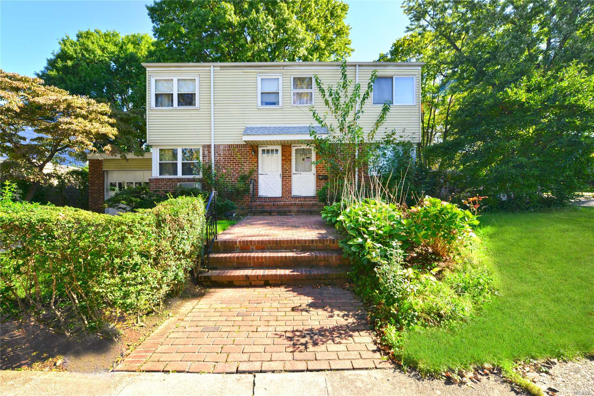 Just Arrived! Semi-Detached Colonial On A Quiet Tree Lined Street In Bayside. Conveniently Located To Shopping & Transportation S.D.26: P.S.46, J.H.S.74, Cardozo H.S.