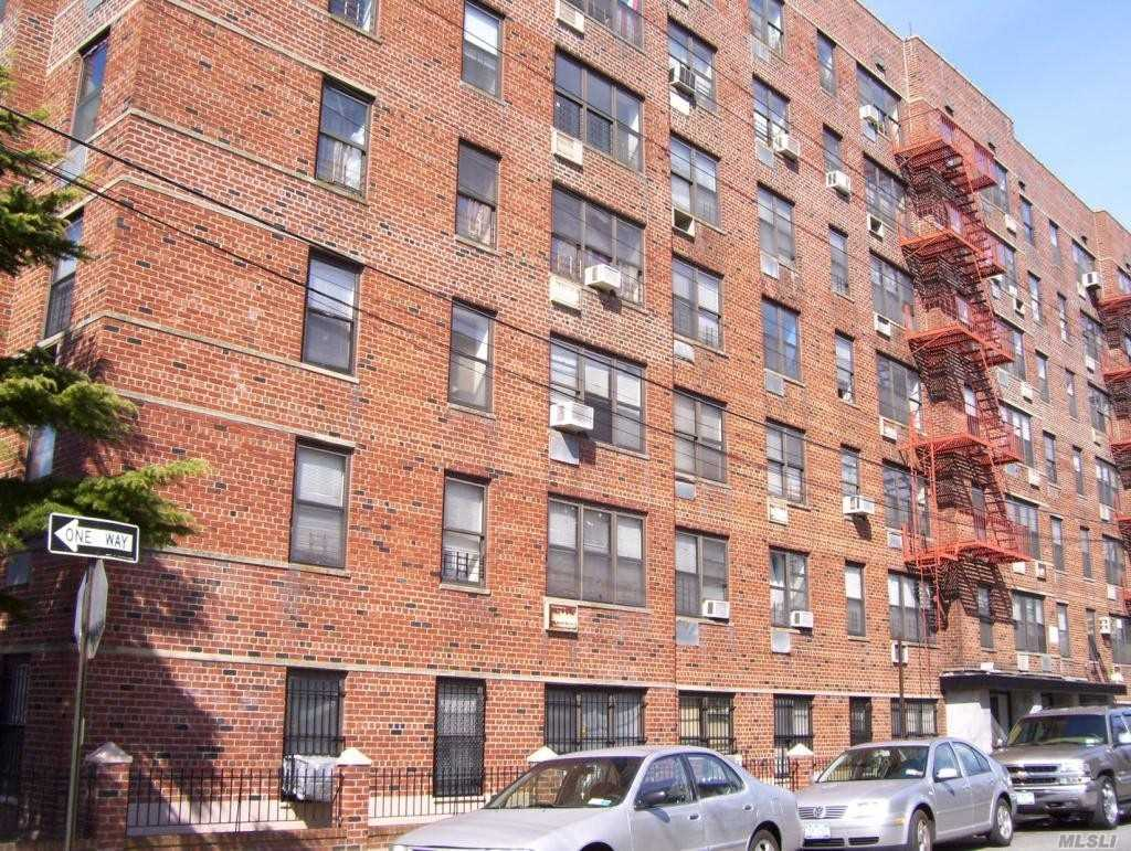 3Br/1Ba Condo In Elevator Building With Doorman And Laundry Room. Sunny, Well-Maintained Unit With Renovated Kitchen. Building Is Next Door To Ms 53/Brian Piccolo School. 1/2 Mile From Mott Ave. Station (A Train). Queens Buses Run Along Cornaga Ave.