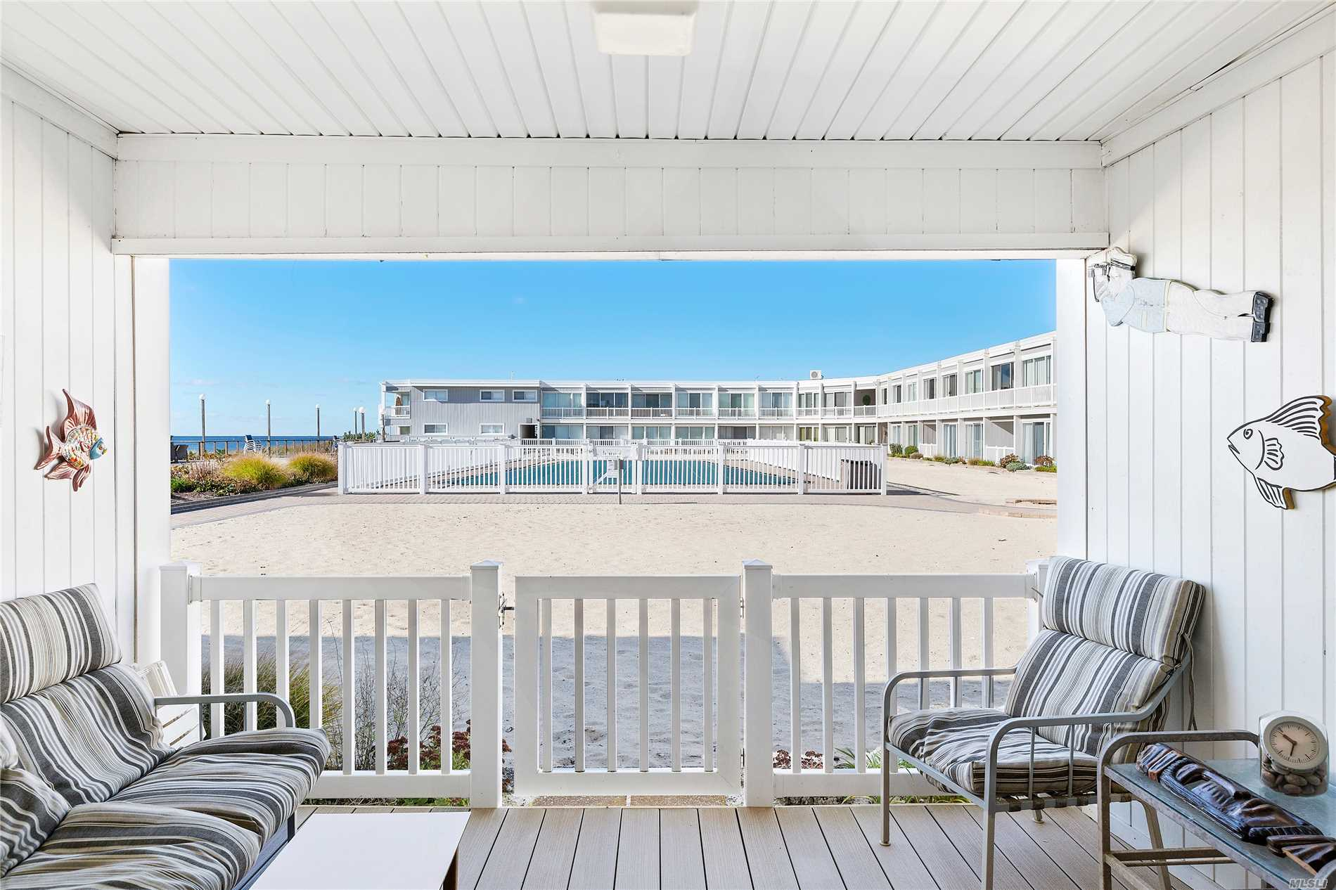 Enjoy This Oceanfront, One-Bedroom Apartment With Breathtaking Views. Step Out To An Expansive Promenade, Pristine Beach And An Olympic-Size Pool. Complex Amenities Include Gym, Recreation/Card Room, Elevator. Bay-Beach Access Across The Road. Motivated Seller!