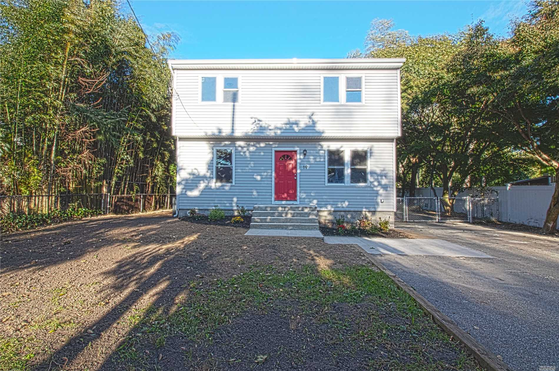 Totally Renovated 4 Bedroom, 2 Bathroom Expanded Cape, Open Floor Plan, Living Rm, Dining Rm, Den, Kitchen With Stainless Steal Appliances.Private Driveway. Full Unfinished Basement With Outside Entrance. New Roof And Siding