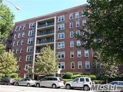 Very Large And Sunny 2 Bedroom With 2 Full Bath On 3rd Floor, Private Balcony, Eat-In Kitchen, Very Spacious Dining Area, Lots Of Closet Space, Large Living Room With Balcony .Wood Floor, Parking Is Also Available. Maintenance Including Gas And Heat, Hot Water. Close To Subway 7 Train, Bus, Main St, Post Office, Library And Supermarkets.