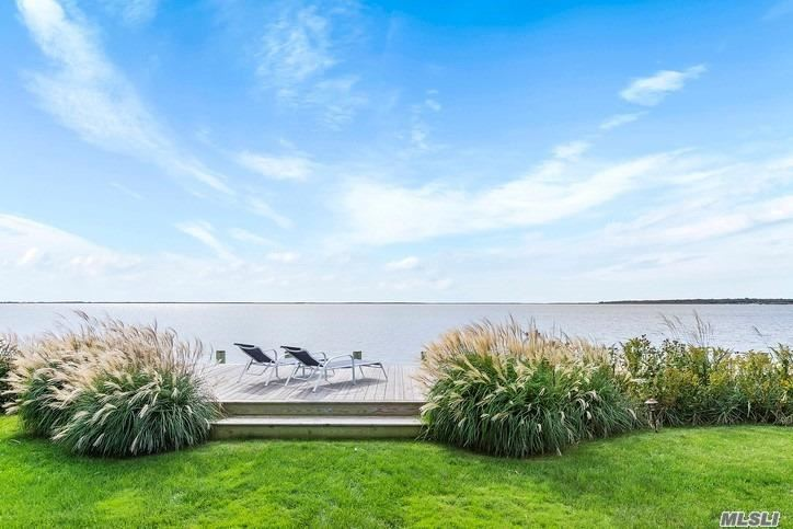 Built In 2008 , This Meticulously Kept Post Modern Beauty Has Majestic Moriches Bay Water Views From All Rooms! Open Floor Plan Concept Great For Entertaining Family And Friends! There Are Several Outdoor Decks, Patios And A Built In Firepit. Just 75 Miles From Manhattan To This Coastal Community Makes For A Great Year Round Home Or Weekend Escape. On The Fringe Of The Hamptons Makes Is A Steal! Completely Turn Key And Ready For New Owners.