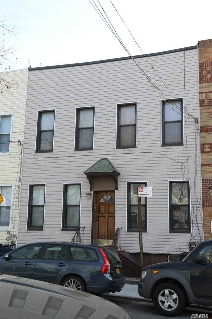 Beautiful 4 Family Centrally Located In Ridgewood Near The L Train To Manhattan And The M Train To Manhattan, Each Apartment Has 4 Rooms Including 2 Bedrooms , 2 Apartments To Be Delivered Vacant .