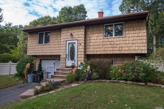 Updated Home On Quiet Mid Block Location. Bright And Spacious With Hardwood Floors Throughout This Open Plan Home. Eat In Kitchen With Granite Counters . Dining Rm With Patio Door Leading To Deck. Andersen Windows Throughout. Paved Walkway Leading To Front Door. Set On Level Beautiful Property .