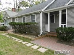 3 Bedroom 1 Bathroom Recently Renovated Ranch In The Village Of Westhampton Beach.