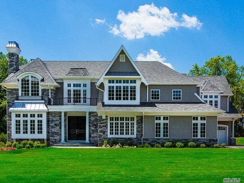 Timeless And Comfortably Elegant, The Barclay Is A Classic Family Residence In The New Traditional Style.Filled W. Rich Details & Lux Materials-Enter Thru A Soaring Dbl Height Ef Leading To Living/Entrtnmnt Spaces Laid Out In Gracious, Flowing Flrplan On Main Lev. Barclay's 6Bd Each Have En Ste Bths Inc. Au Pair Or In Law Ste On1st Fl. Home Comes With Smart Wiring, 3 Car Gar