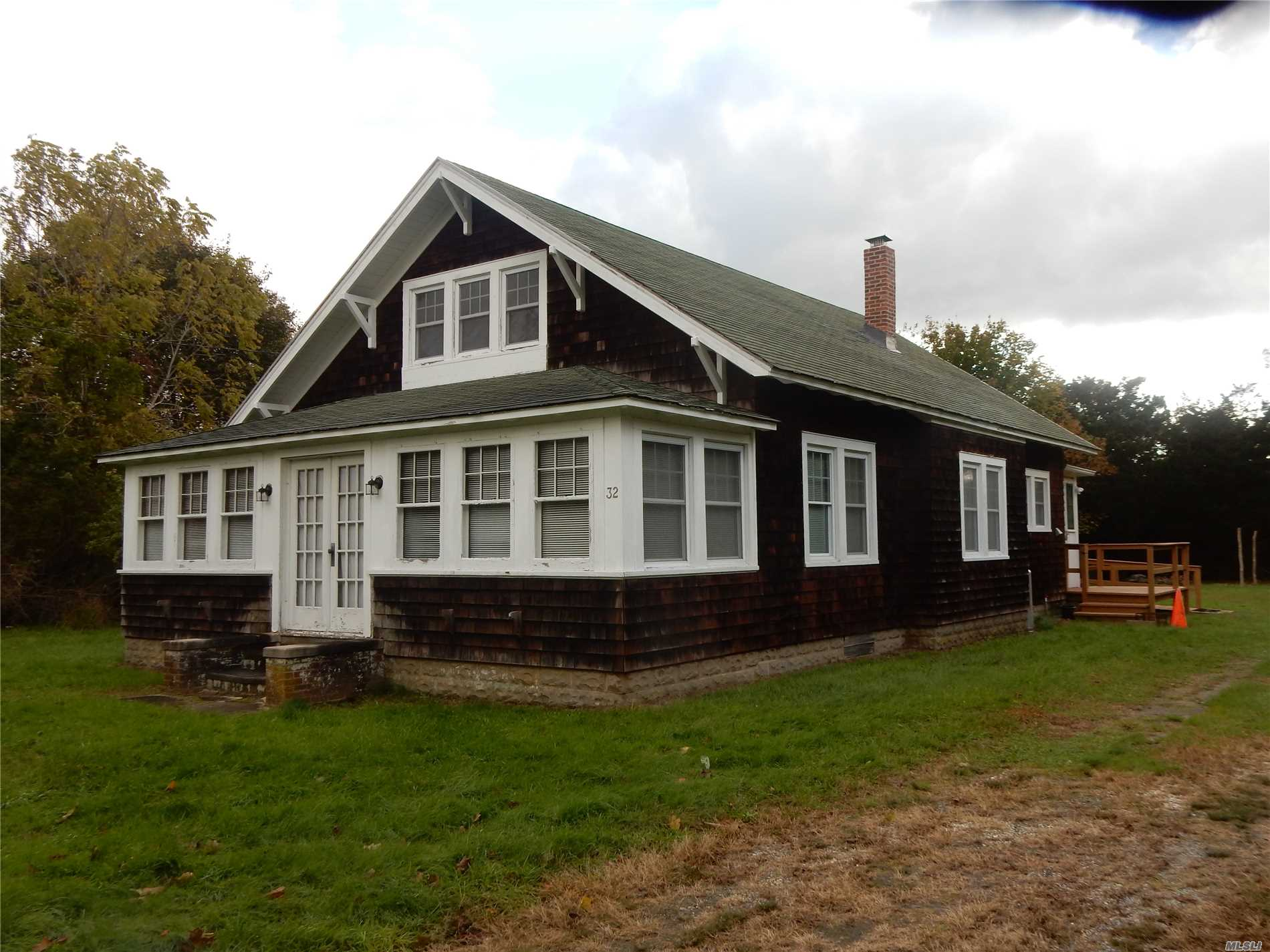 Charming, Older Home In The Remsenburg/Speonk Sd. Private Location Offering Large Eat-In-Kitchen, Dining Room, Living Room, 4 Season Room, 3 Bedrooms And 1 Full Bath. Use Of Garage Is Not Included In Rental, But There Is Plenty Of Storage Available In Full, Walk-Up Attic.
