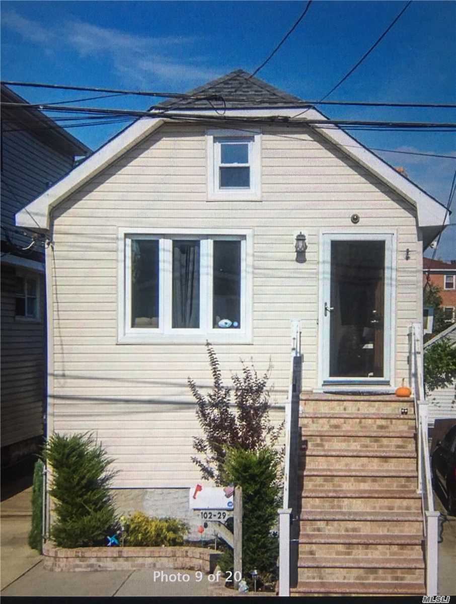 Fully Renovated Ranch Style Homes, Features Two Bedroom One Full Bath And Doors That Lead To Private Deck In Back.Near A Train, Q11 Bus Top To Queens Center Mall Around The Corner, & All Shops.