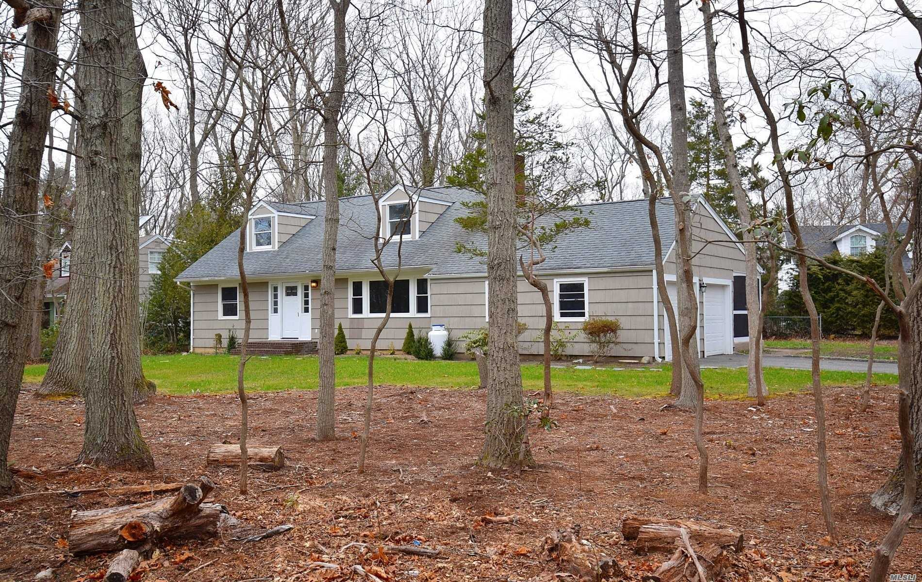 Superb Home, New Kitchen, Baths, Flooring, Boiler, Electric, Cac. Just Unpack And Relax In This Beautifully Redone House With Enclosed Porch, Rear Deck And Large Lot With The 2Car Garage Entrance On Cul-De-Sac!