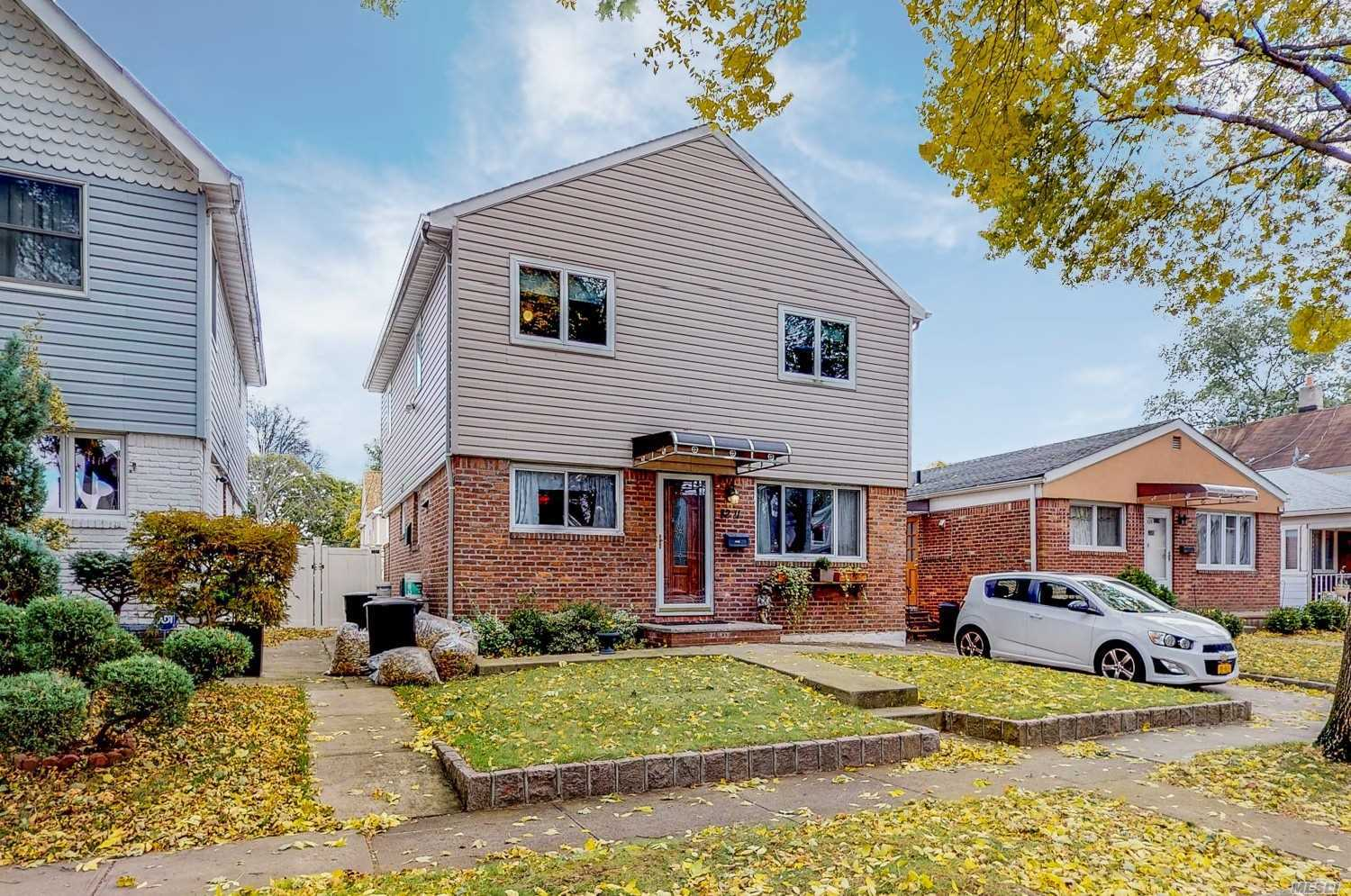 Oversize Colonial Located On A Tree Line Block, North Of Hillside Ave. Fully Renovated In 2002, 5 Large Bedrooms, 4 Large Bedrooms All Located On The 2nd Fl And 1 Bedroom On The 1st Fl. New Boiler, Roof & Hardwood Floors Through Out. Kitchen. Perfect House For A Large Family- Additional Fully Finished Basement, 3 Zone Heat And 2 Zone Central Air And Sprinkler System In Front And Back Yard. Super Convenient To Shopping, Travel & Public Transportation, School District 26.