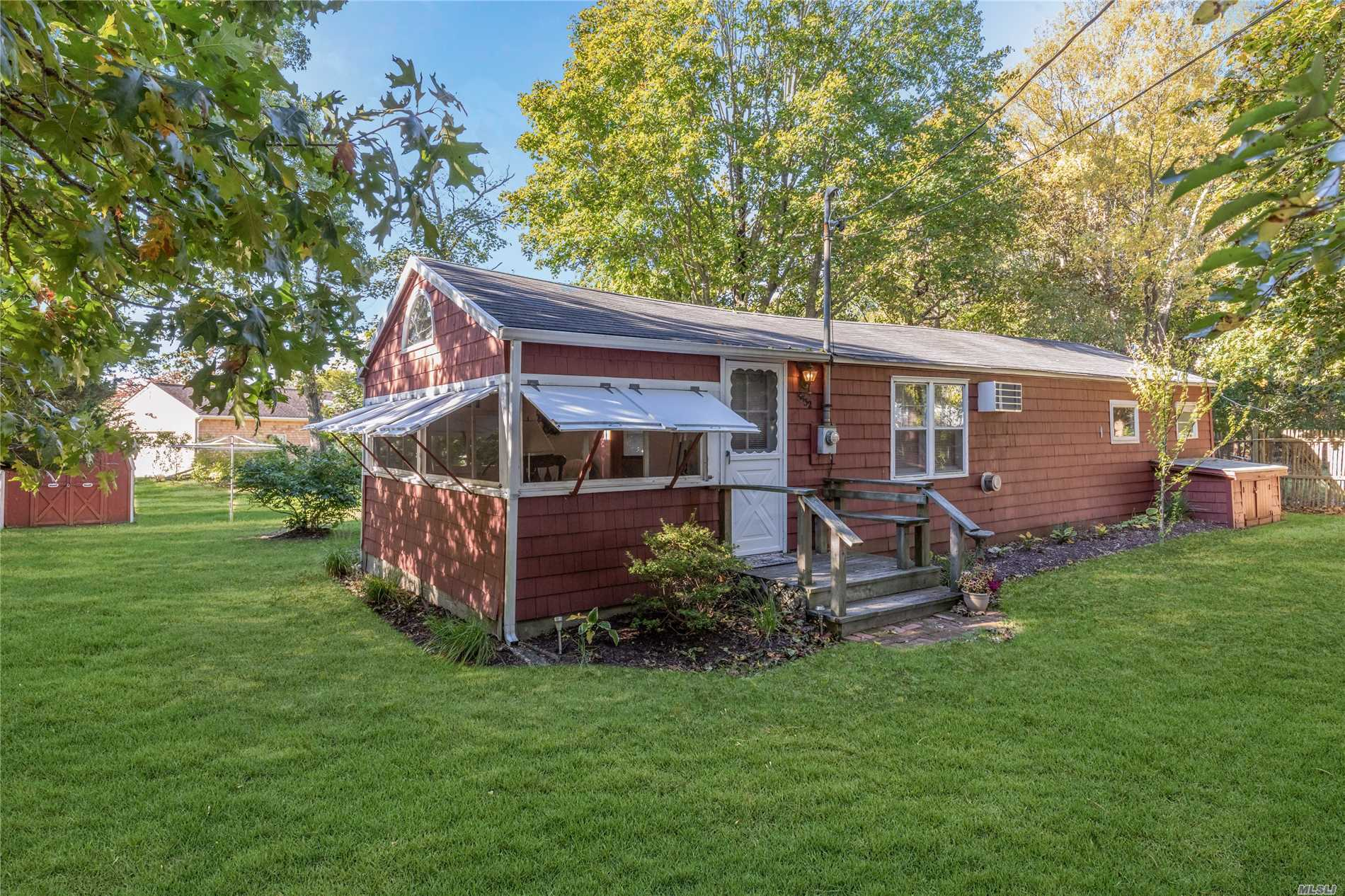 Enjoy The Simple Life! Neat And Complete Summer Cottage Reminiscent Of Days Gone By. Use As Is Or Build A New Home And Keep This As An Accessory Apartment! Private Secluded Location In Bayview.