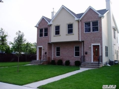 Nearly New Construction! All Large Grand Rooms! Gorgeous 3 Bedroom Duplex In Carle Place School District. 2.5 Baths, Living Room, Formal Dining Room, Eat-In Kitchen With Granite Counter Tops, Master Bedroom With Full Bathroom, Finished Basement, Central Air Condition, Use Of Yard, 1 Car Garage/Electric Eye.