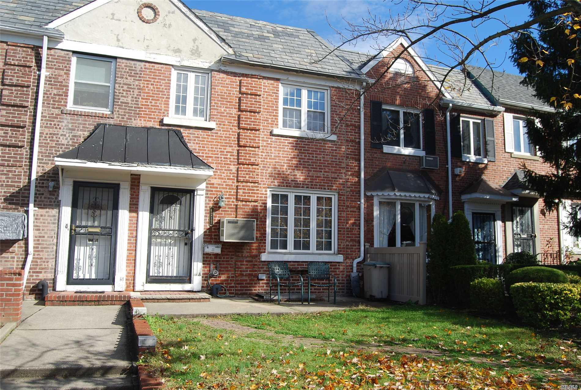 Nice Sunny And Bright Brick 1 Family That Is Only 1 Block From 55 Acre Juniper Park And Express Bus To Manhattan, House Has Beautiful Wood Floors Finished Basement And Has Rear Patio With Door Going From Formal Dining Room. Home Also Has A Garage . Location Location Location,