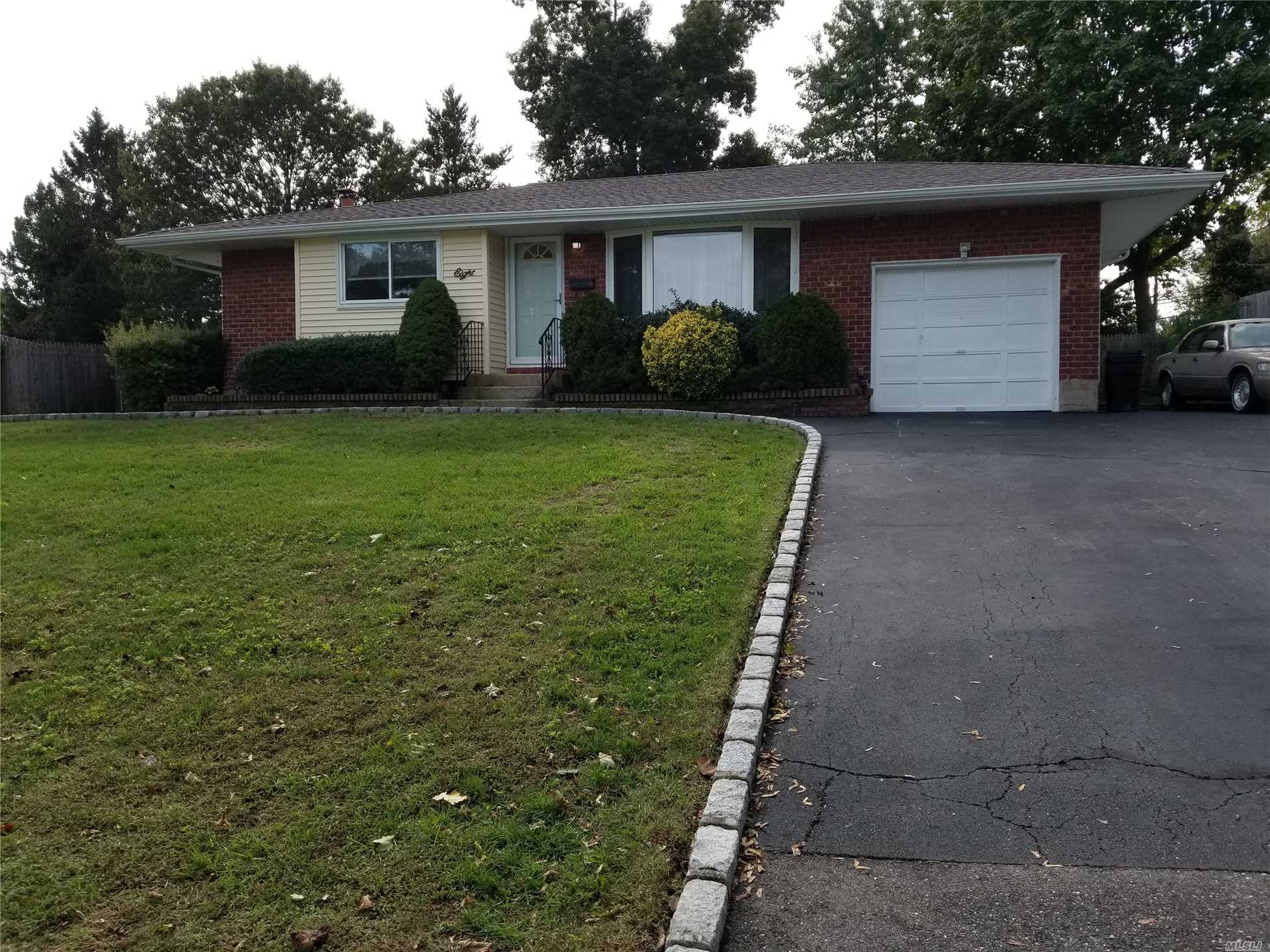 Lovely Expanded Ranch In Beautiful Valmont Section Of Commack With Commack Schools. Newer Roof And Heating System.Newer Central Air Conditioning. Belgian Block Edged Driveway. Updated Kitchen. Convenient To Shopping & Highways. Some Hardwood Floors Under Rugs. 2 Bedrooms Rooms Added To Original Layout. Over Sized 1 Car Garage. Wood Burning Stove Will Keep Bills Down!