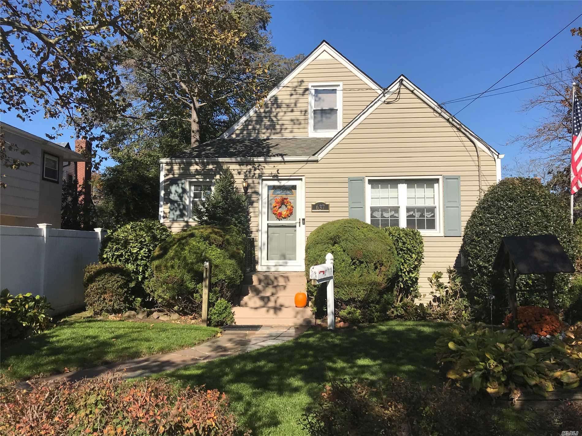 Charming Cape Cod Home, Large Living Room, Sun Filled Dining Room, Finished Basement, Wood Floors Thru-Out, New Driveway, Great Deck For Entertaining, Tons Of Storage.