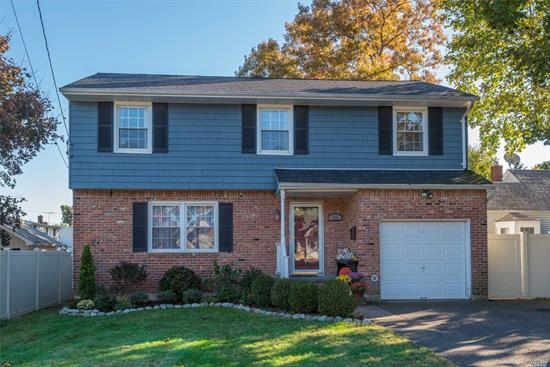 Wonderful 4-Bd, 2.5-Ba Colonial W/Updates Galore! Updated Eik W/Wood Cabinets & Ss Appliances. Mstr Bdrm W/Full Bth & Wic. Gleaming Wood Flrs. Family Rm W/Fireplace. Finished Bsmt. Updates Incl Kitchen Appl (3 Yrs), Cac (5 Yrs), Anderson Renewal Windows (9 Yrs), Bths (10-12Yrs), Siding & Roof (1 Yr), Fence/Deck/Driveway (5 Yrs), 150 Amp (15 Yrs), Boiler (10 Ys) & More. Fenced Back Yard W/Deck & Pool. Move Right In! Be The Proud Owner!