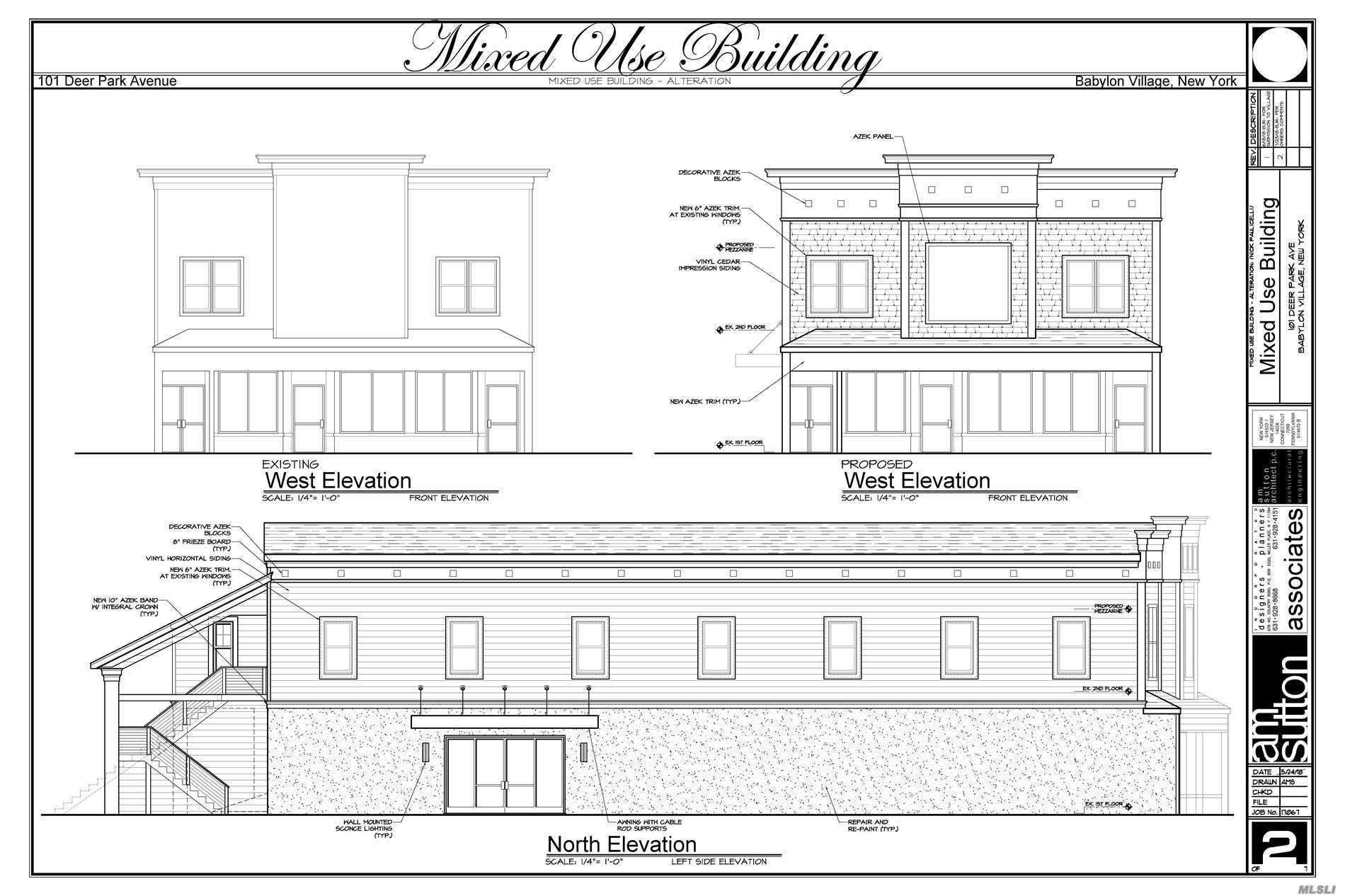Prime Retail Space In The Heart Of Babylon Village - Full Exterior Renovations are starting soon - 21 Space Parking Lot & Full Exterior Security System - Rear Unit Avail - 1428 Sq ft - Unit will have entrance facing walk way of the Brixton and entrance from back parking lot and be offered at $30 sq ft.($3570)