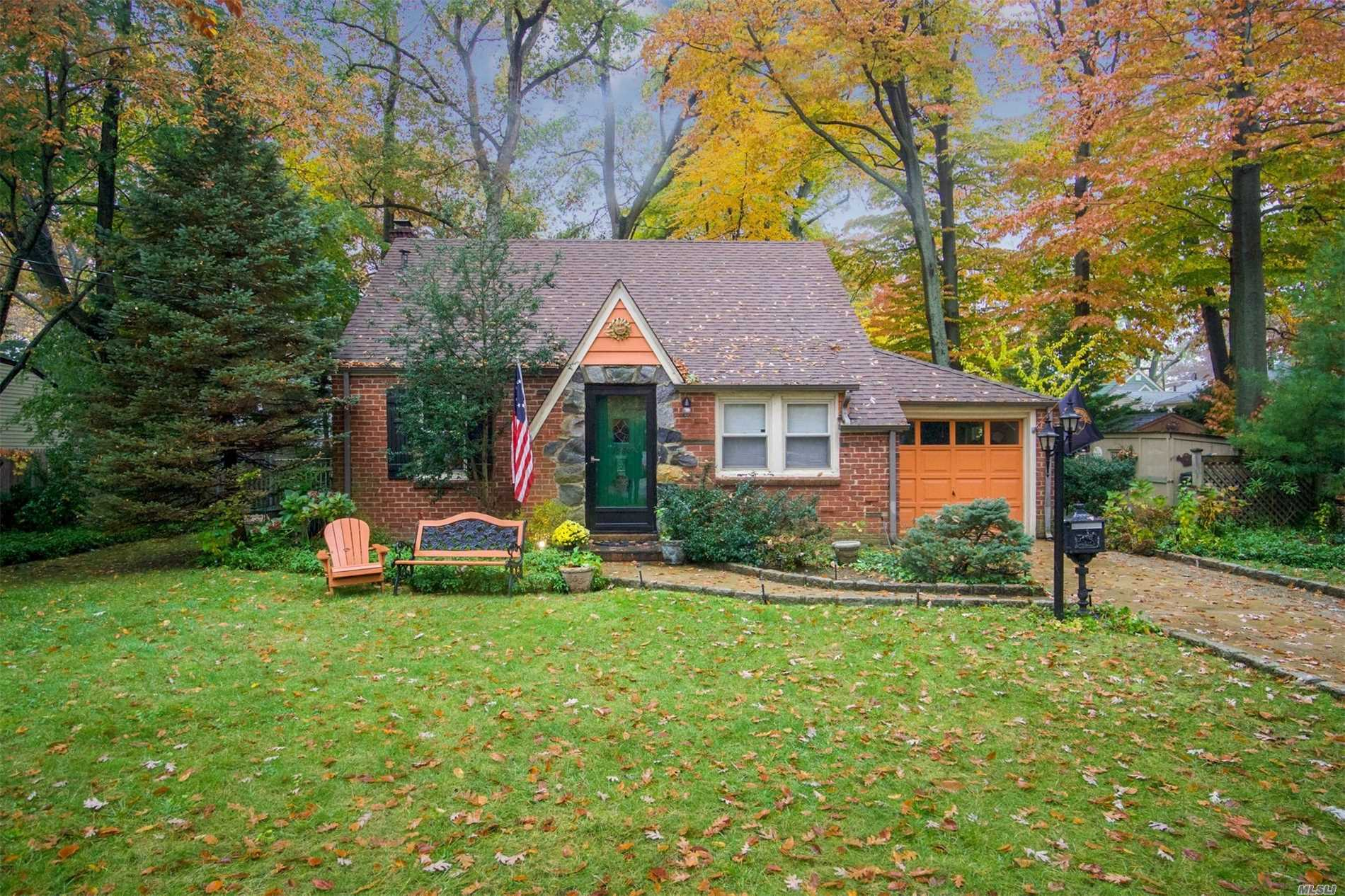Charming Brick Cape In Desirable Wantagh Woods Nestled On Parklike 80X125 Property With Many Trees. This House Is The Perfect Home Or Customize To Your Dream Home, Located Mid-Block On One Of The Nicest Blocks. Must See To Appreciate!