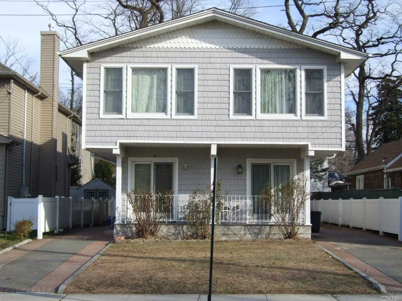 Lovely 2 Family Duplex Each Has 2 Bedrooms 2.5 Baths, Lr/ Dr, Eik, Basement With Laundry Room. Close To Park W/Pool, Tennis & Beach, Shopping & Restaurants. Lirr 35 Mins To Nyc (Penn Station).