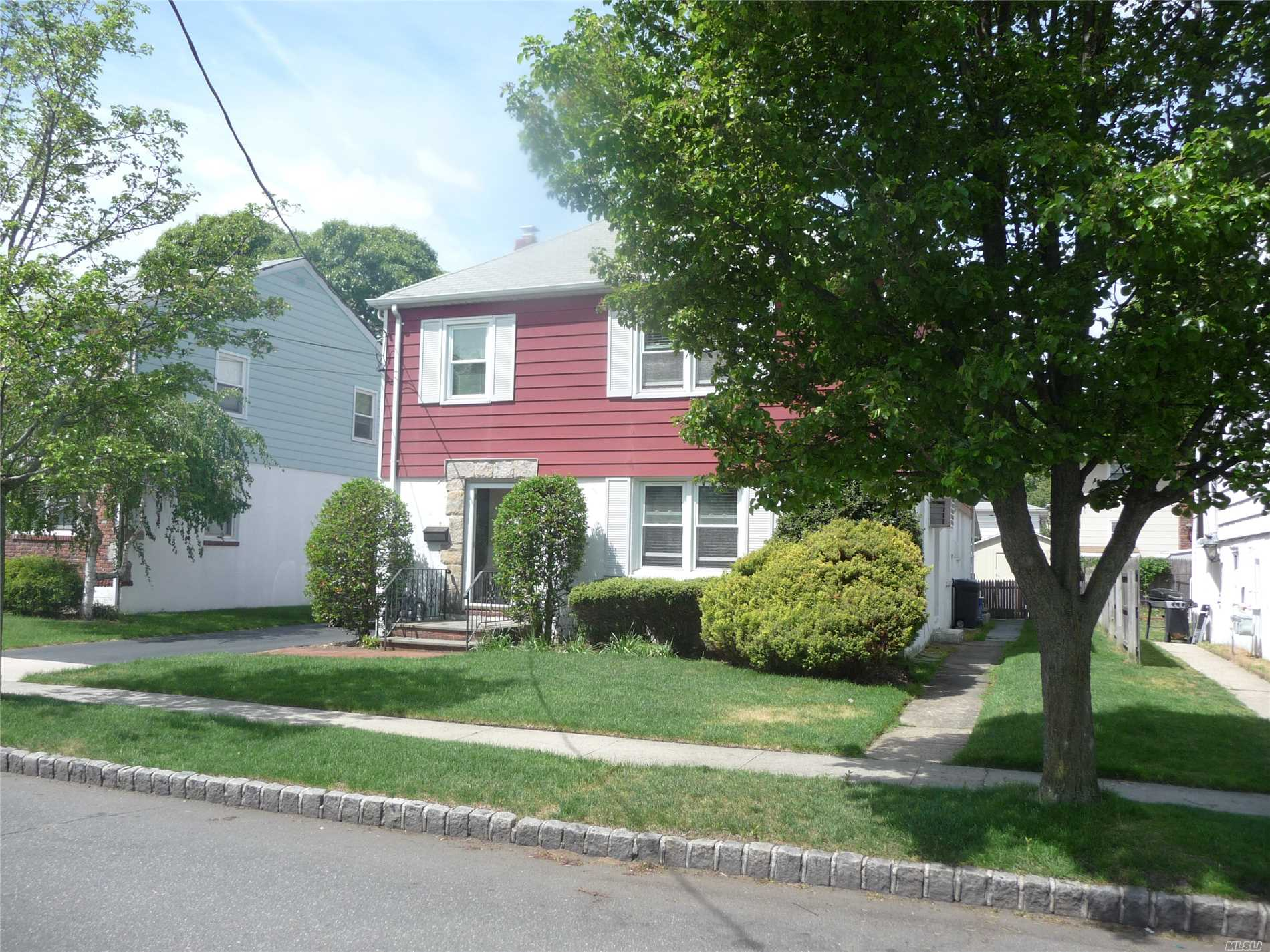 Bright & Spacious 2 Family House. Each Floor Has Living Rm. & Diningt Rm. 2 Bedrooms, Kitchen, Full Bath Long Driveway And Rear Patio