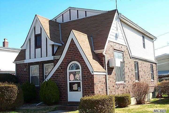 Tudor Colonial, Mid-Block Location Features 5 Bedroom, 1-1/2 Bathroom, Formal Living Rm & Dining Rm W/Vaulted Ceilings, Hardwood Floors On 1st Floor, Redone Kitchen, Updated & Expanded Tiled Bathroom, Bedrooms On 1st & 2nd Flrs, Full Finished Basement W/Family Room & 1/2 Bath, Plenty Of Room For Mom! Updated Gas Heating System W/3 Zones, 1 Car Garage, Fully Fenced Property, Manicured Grounds! Taxes Have Been Verified! Great Curb Appeal, Great Area, Close To All! Easy To Show!!!