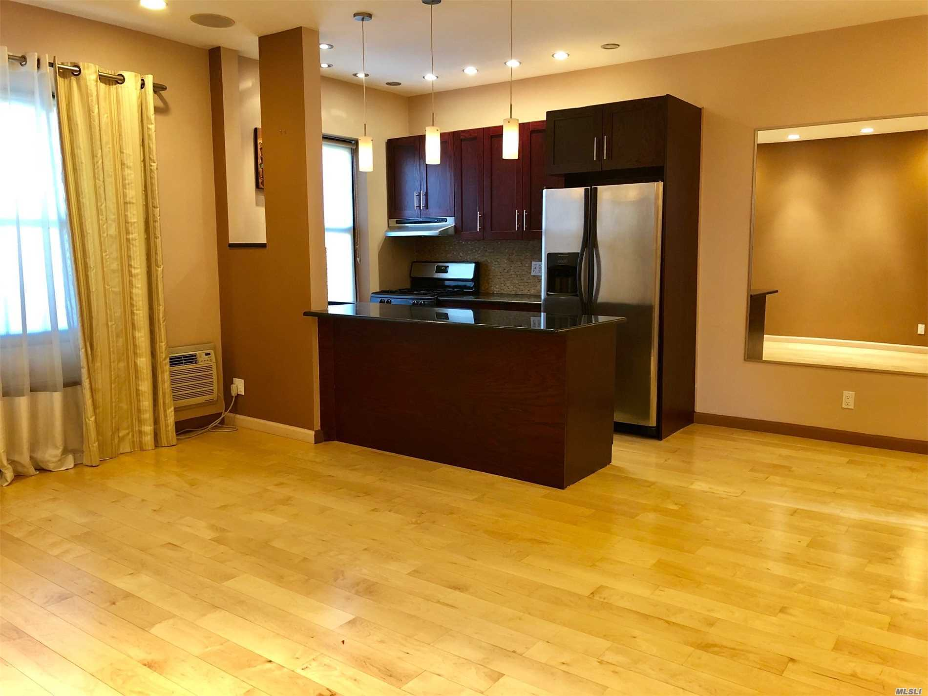 Spacious One Bedroom, All Renovated,  Including One Parking Spot And Water And Heat. Near Transportation, Must See!