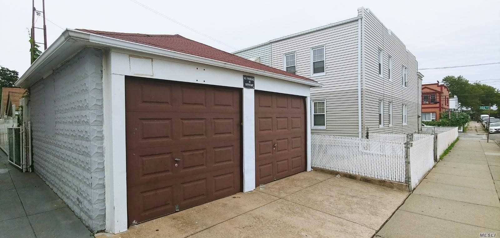 Ozone Park, Corner Property, Semi Detached 2 Family, New Kitchen, New Baths, New Flooring, All Modern; New Electrical, New Fixtures, 6 Over 5 Rooms, Skylight, Full Basement, New Boiler, Patio Area, 2 Car Garage, Great Location  Must See!