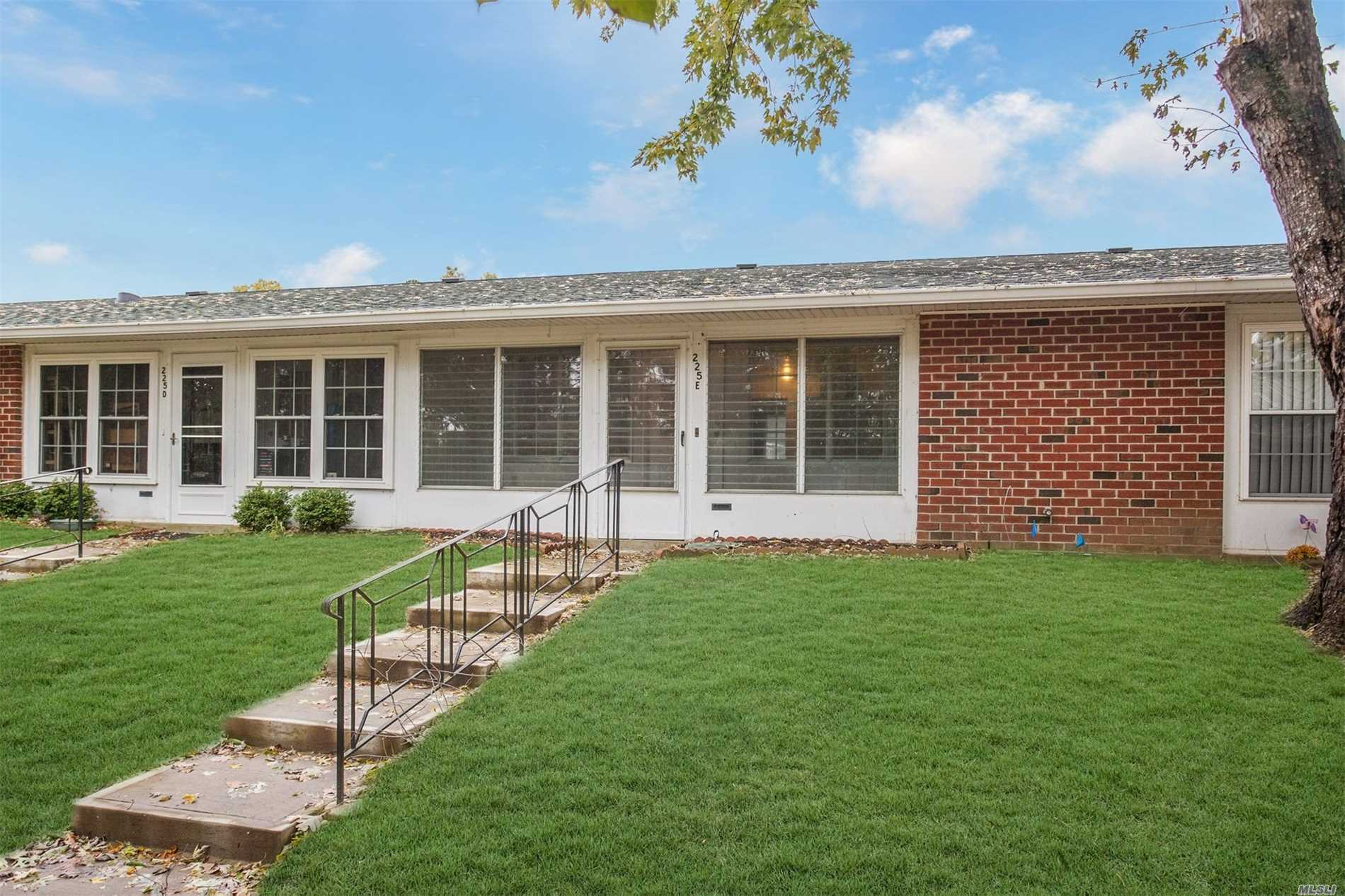 2 Bedrooms, Open Floor Plan,  Sun Room, Extra Parking Spaces All In 24 Hour Gated Security 55 And Better Community Offering Heated Outdoor Pool 9 Hold Golf, Bus Service, Club House, Snow Removal, Exterior Maintenance. Clubs Include Aerobics, Bingo, Bocce, Book Club, Bowling, Bridge, Ceramics, Golf, Horseshoe, Ping Pong, Quilting, Shuffleboard, Social Club, Tennis, Wood Working And More!