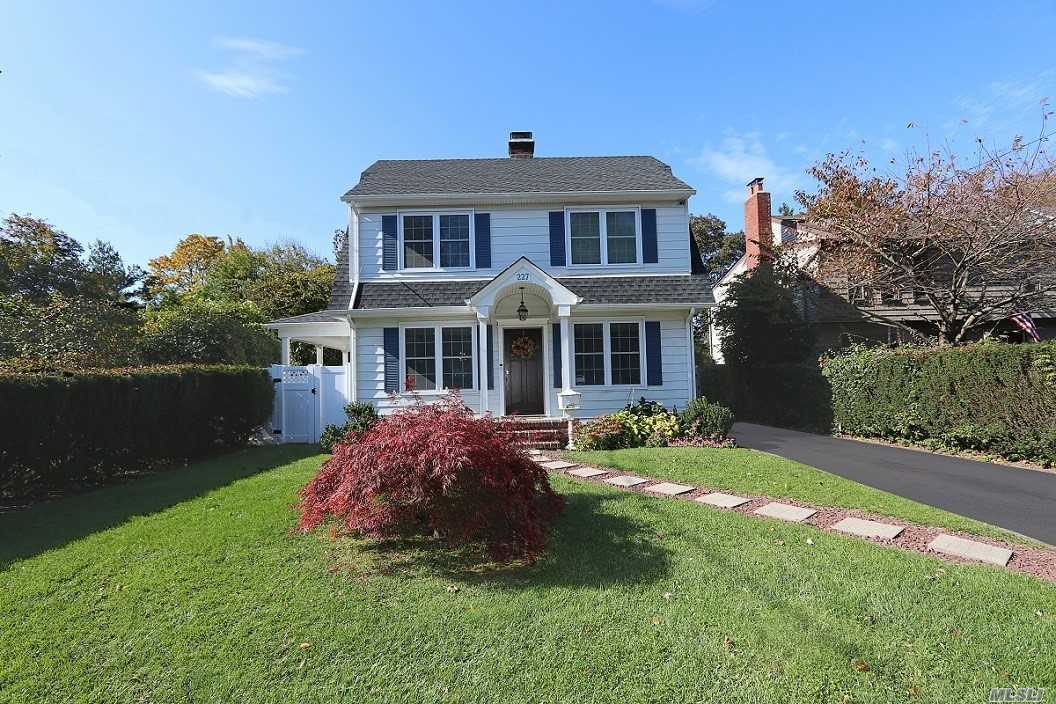 North Syosset Find! Renown Syosset School District. Totally Renovated Colonial With Young, Decorative Style. New Heating, New Central Air, New Roof And Many Extras. Set On Park-Like Private Property With Wood Deck, Covered Porch, And Above Ground Pool. Convenient To The Town Of Syosset, Syosset Train Station, And Great Shopping.  Reasonable Taxes. Must See To Appreciate! Sewer Hook-Up Available. **Great Expansion Possibilities. **