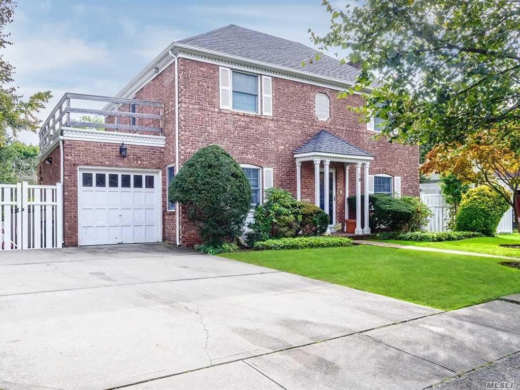 Totally Renovated Center Hall Colonial, New Kitchen With High End S.S. Appliances, Breakfast Rm With Many Windows Overlooking Beautiful Property, All New Bths, Flr Fdnr Den , Large Bdrms, Beautifully Finished Basement Move Right In,