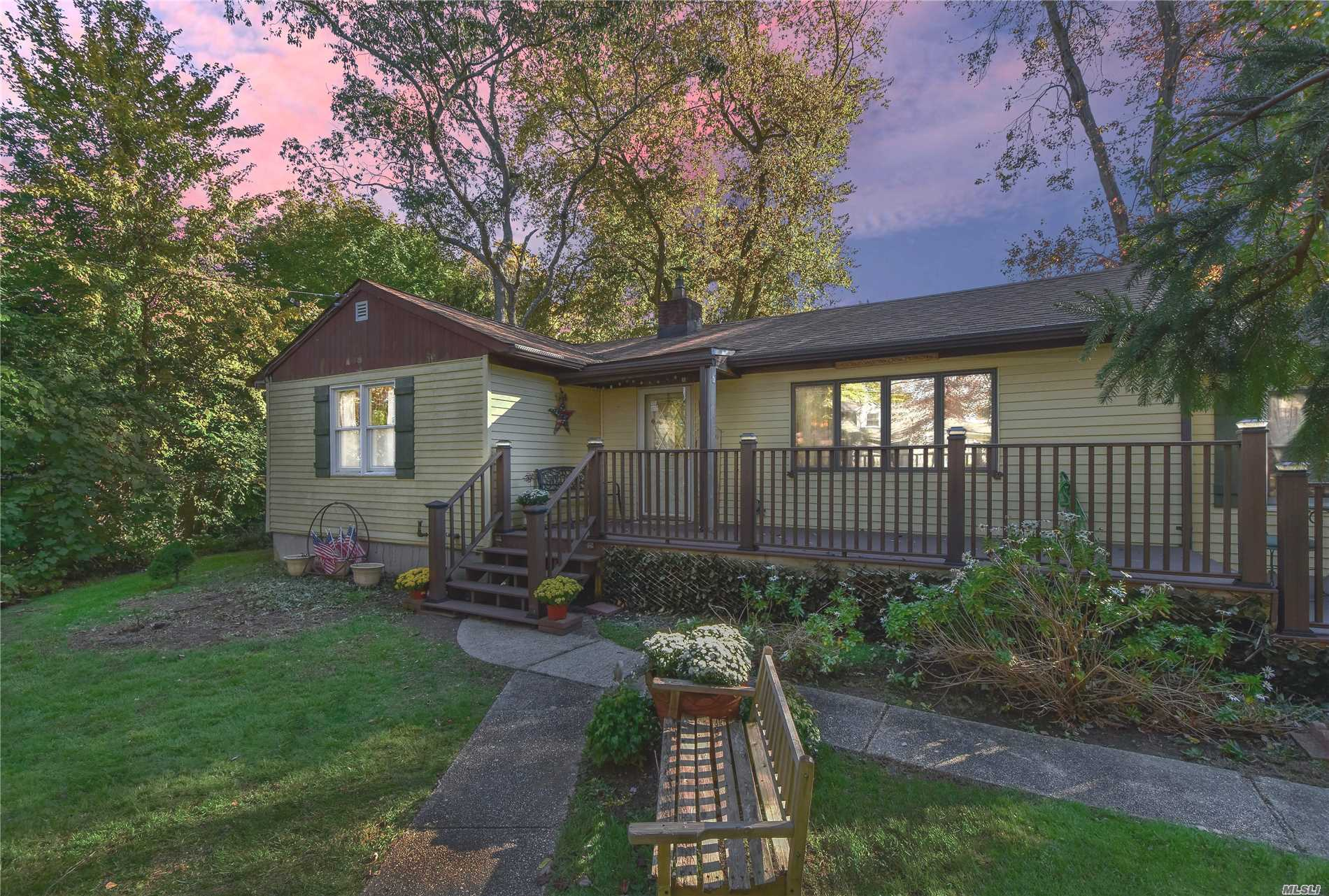 Great Location! Beautiful Exp Ranch In School District #13. Garage Converted To Office. Gorgeous Redone Gourmet Kitchen, Hardwood Floors, Needs Tlc. Great Mid-Block Location!