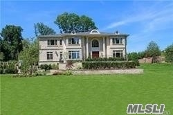 Palatial New Construction Homes In Roslyn Harbor, On One Acre Parcels. Elegant Homes Featuring The Finest Level Of Design And Construction With Custom Millwork And Distinctive Architectural Details Throughout. Enclosed Backyard Porch With Paved Patio. North Shore Schools.