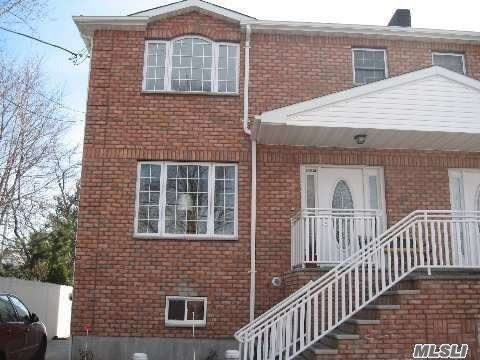 Priced To Sell, Motivated Seller! Must See! Hamilton Beach Gorgeous 2004 3Br-2.5Ba Townhouse, Large Deck, Private Driveway, Backyard, Open Concept Kitchen, Granite Counters, New Stainless Appliances, Amazing Closets, Spacious Rooms, Many Exciting Features Redone In 2013: Ceiling Fans, Central Air, Washer/Dryer, Granite Steps & Iron Railing, Chairlift, Heater/Boiler, Brick House, Concrete Basement, Near A Train, Q11 Bus Stop To Queens Center Mall Around The Corner, & All Shops